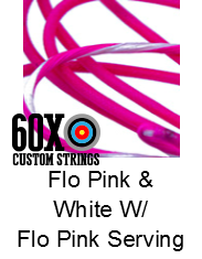 flo-pink-white-w-flo-pink-serving-custom-bow-string-color.png