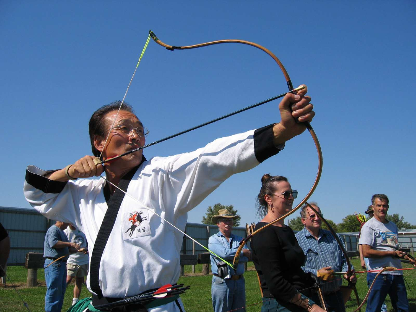 real life korean master archer