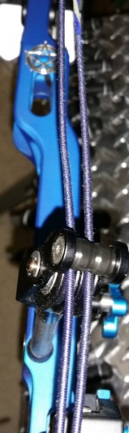 proper replacing bow string cable roller guide