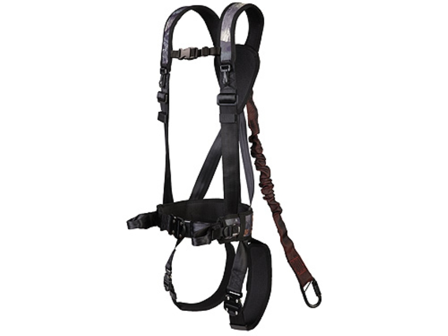 black safety harness
